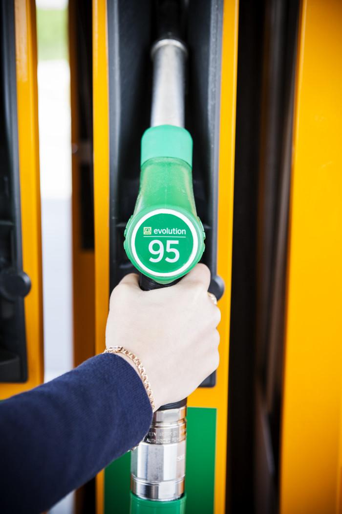 Evolution bensin - bensintank - gasoline