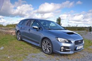 Test Subaru Levorg – Komfortbel familjekombi
