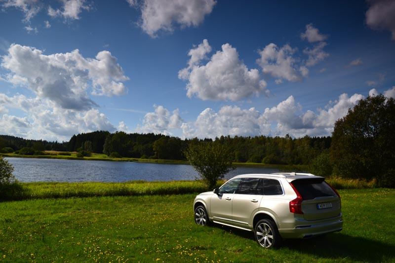 Nybilstestad: Volvo XC90 T6